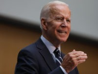 NEW YORK, NEW YORK - JULY 11: Democratic presidential candidate, former Vice President Joe Biden gives a speech on his foreign policy plan on July 11, 2019 in New York City. Biden, who is running for the 2020 Democratic party presidential nomination, spoke about his foreign policy experience and a …