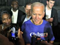 Presidential hopeful Joe Biden at the World Famous Jim Clyburn Fish Fry in South Carolina.AGENCE FRANCE-PRESSE/GETTY IMAGES