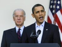 Joe Biden and Barack Obama (Mike Theiler / Getty)