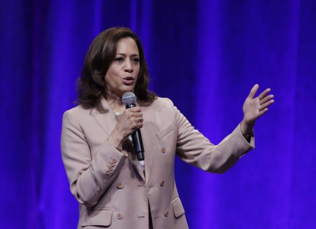 Kamala Harris (Darron Cummings / Associated Press)