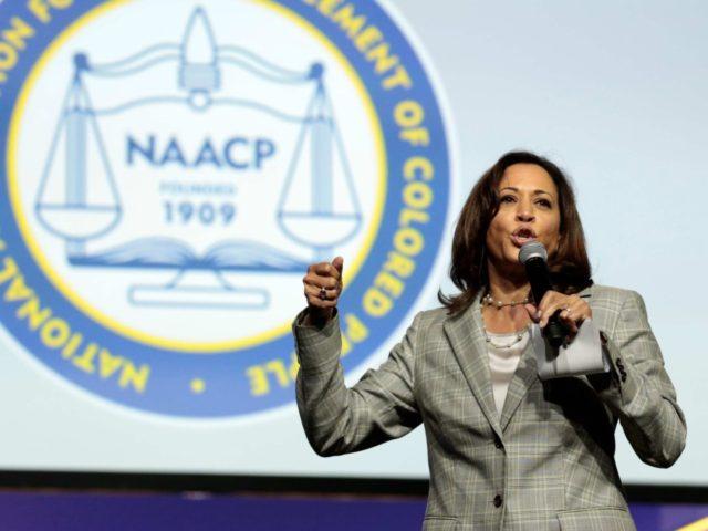 Kamala Harris NAACP (Jeff Kowalsky / AFP / Getty)