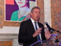 WASHINGTON, DC - APRIL 29: Her Majestys Ambassador to the United States, Sir Kim Darroch speaks during the Capitol File's WHCD Welcome Reception at British Ambassador's Residence on April 29, 2016 in Washington, DC. (Photo by Larry French/Getty Images for Capitol File Magazine)