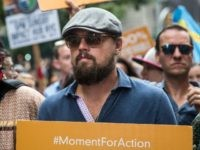 NEW YORK, NY - SEPTEMBER 21: Actor Leonardo DiCaprio participates in the People's Climate March on September 21, 2014 in New York City. The march, which calls for drastic political and economic changes to slow global warming, has been organized by a coalition of unions, activists, politicians and scientists. (Photo …