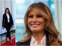 Fashion Notes: Melania Trump Suits Up in Michael Kors, Manolo Blahnik Pumps
