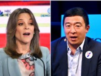 Marianne Williamson, Andrew Yang