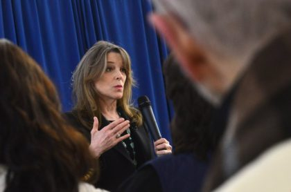 Marianne Williamson Asked White People to Apologize to Black People for Past 'Evils'
