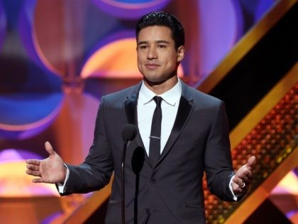 BURBANK, CA - APRIL 26: TV personality Mario Lopez speaks onstage during The 42nd Annual Daytime Emmy Awards at Warner Bros. Studios on April 26, 2015 in Burbank, California. (Photo by Jesse Grant/Getty Images for NATAS)