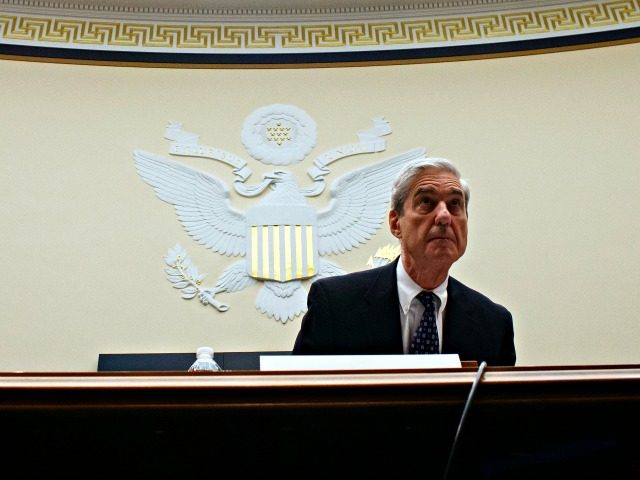 WASHINGTON, DC - JULY 24: (AFP OUT) Former Special Counsel Robert Mueller testifies before a House Judiciary Committee hearing about his report on Russian interference in the 2016 presidential election in the Rayburn House Office Building July 24, 2019 in Washington, DC. Mueller testified before the House Judiciary and Intelligence …