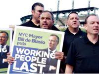 NYPD Protest DeBlasio