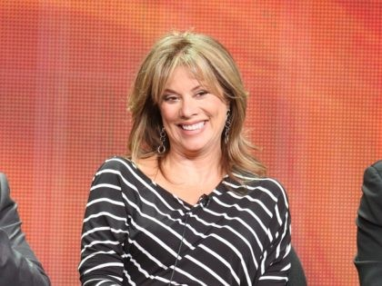 BEVERLY HILLS, CA - JULY 26: Actress Nancy Lee Grahn speaks onstage at the 'General Hospital' panel during day 6 of the Disney ABCTelevision Group portion of the 2012 Summer TCA Tour at The Beverly Hilton Hotel on July 26, 2012 in Beverly Hills, California. (Photo by Frederick M. Brown/Getty …