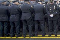 Police Turn Backs on DeBlasio