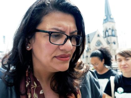 VIDEO: Rashida Tlaib Refuses to Answer Questions About Baltimore