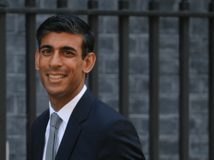 Britain's Chief Secretary to the Treasury Rishi Sunak arrives at 10 Downing street for a cabinet meeting in London on July 25, 2019 - Britain's newly installed Prime Minister Boris Johnson holds his first cabinet meeting today faced with the burning challenge of resolving the three-year Brexit crisis in three …