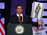 Gov. Ron DeSantis, Gen. Edmund Kirby Smith statue