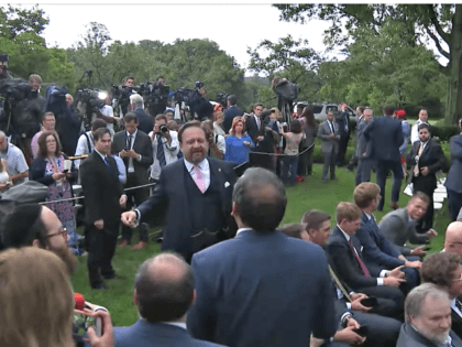 Brawl Breaks Out in Rose Garden Between Conservatives and Media: 'You're Not a Journalist, You're a Punk!'