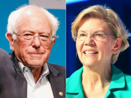 Poll: Far-Left Progressives Choosing Sanders and Warren