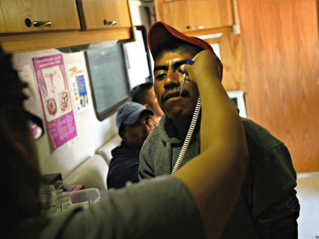 Sick Migrant Farm Worker John MooreGettyImages