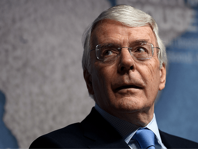 LONDON, ENGLAND - FEBRUARY 27: Former British Prime Minister John Major waits to deliver a speech on Britain's exit from the European Union, on February 27, 2017 in London, England. Mr Major attacked the government over its approach to Brexit and said they should be honest with voters over the …