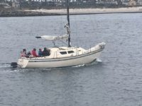 Coast Guard finds 13 illegal aliens on sailboat off California coast. (Photo: U.S. Customs and Border Protection)