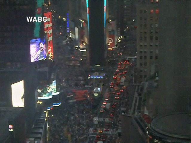 Times Square blackout WABC