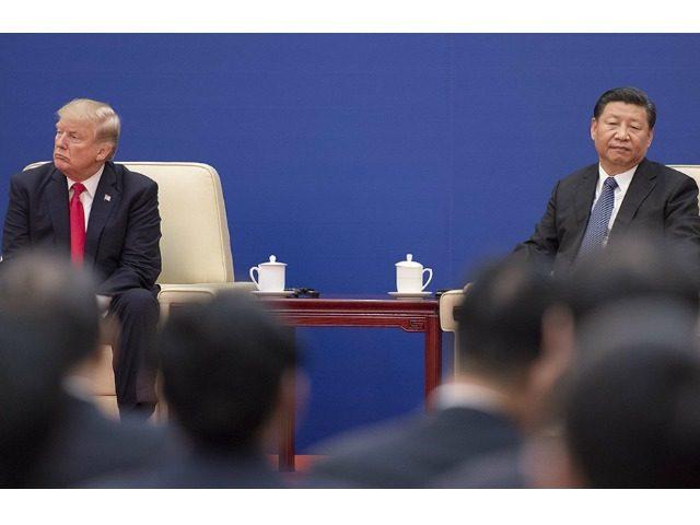 Trump, Xi Jinping.