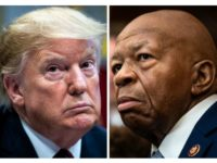 President Trump and Rep. Elijah Cummings. (Photos: Jabin Botsford/Washington Post via Getty Images; Salwan Georges/Washington Post via Getty Images)