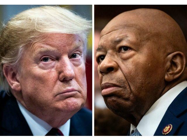 President Trump and Rep. Elijah Cummings. (Photos: Jabin Botsford/Washington Post via Getty Images; Salwan Georges/Washington Post via Getty Images)