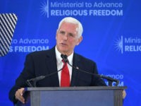 Pence Blasts Antisemitism in Congress at Religious Freedom Event
