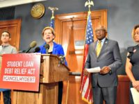 Warren: Black-White Wealth Gap, Gov't Racial Discrimination Reasons to Forgive Billions in Student Loan Debt