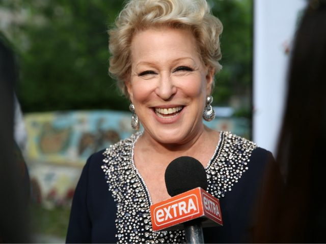 Bette Midler accused of racism over tweet about African American Trump supporters