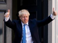 New Conservative Party leader and incoming prime minister Boris Johnson arrives at the Conservative party headquarters in central London on July 23, 2019. - Boris Johnson won the race to become Britain's next prime minister on Tuesday, heading straight into a confrontation over Brexit with Brussels and parliament, as well …