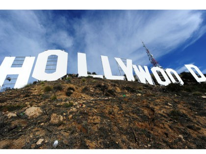 The freshly painted Hollywood Sign is seen after a press conference to announce the completion of the famous landmark's major makeover, December 4, 2012 in Hollywood, California. Some 360 gallons (around 1,360 liters) of paint and primer were used to provide the iconic sign with it most extensive refurbishment in …