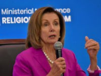 Nancy Pelosi Gets Standing Ovation at Trump's Religious Freedom Event