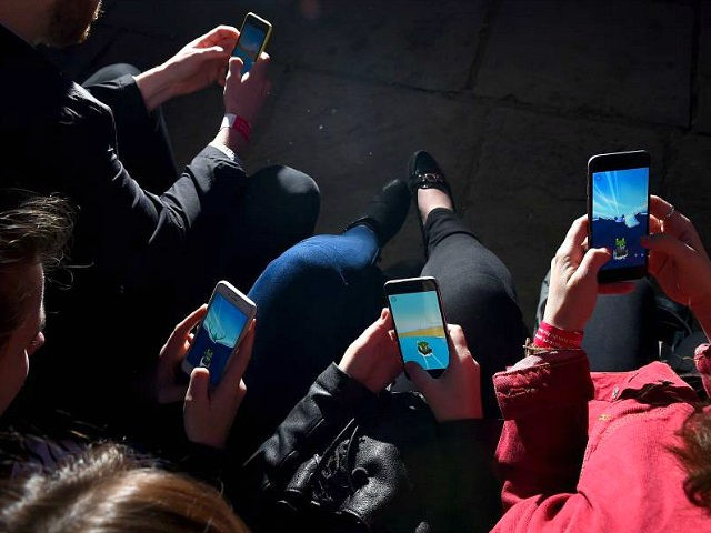 LONDON, ENGLAND - MAY 03: A general view as volunteers gathered at UCL to mark the launch of a brand new mobile phone game, Sea Hero Quest and become a part of scientific history on May 3, 2016 in London, England. Through this event, 350 people collectively playing the game …