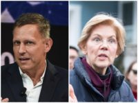 Peter Thiel: Elizabeth Warren Is Most 'Dangerous' 2020 Candidate