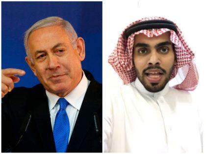 benjamin netanyahu and Mohammed Saud