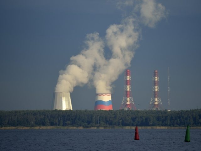 View of a Russian nuclear plant in Saint-Petersburg on September 5, 2013. AFP PHOTO / ERIC FEFERBERG (Photo credit should read ERIC FEFERBERG/AFP/Getty Images)