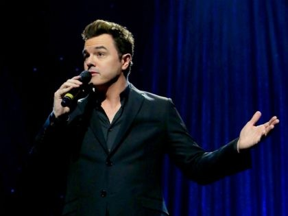 HOLLYWOOD, CA - NOVEMBER 15: Seth MacFarlane performs onstage during the Thelonious Monk Institute International Jazz Vocals Competition 2015 at Dolby Theatre on November 15, 2015 in Hollywood, California. (Photo by Rachel Murray/Getty Images for Thelonious Monk Institute of Jazz)