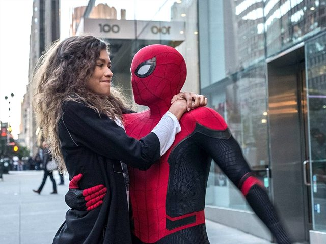 Zendaya and Tom Holland in Spider-Man: Far from Home (Disney, 2019)