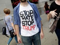 stop hate stop trump protest shirt