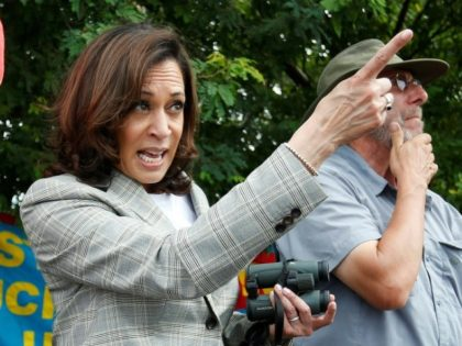 Kamala Harris Calls on Twitter CEO to Ban President Trump After He Refers to Impeachment Efforts as 'a Coup'