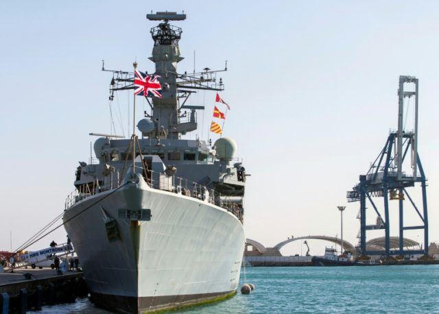UK warship fends off Iran bid to 'impede' its tanker in Gulf