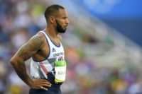 Britain's James Ellington races for first time since horror crash