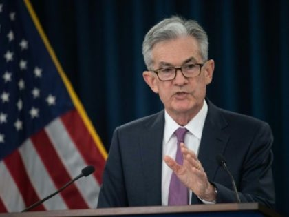 President Donald Trump has attacked the independent US Federal Reserve, demanding the central bank reverse course and cut interest rates -- something it is widely expected to do this month; its chairman, Jerome Powell, is pictured in June 2019