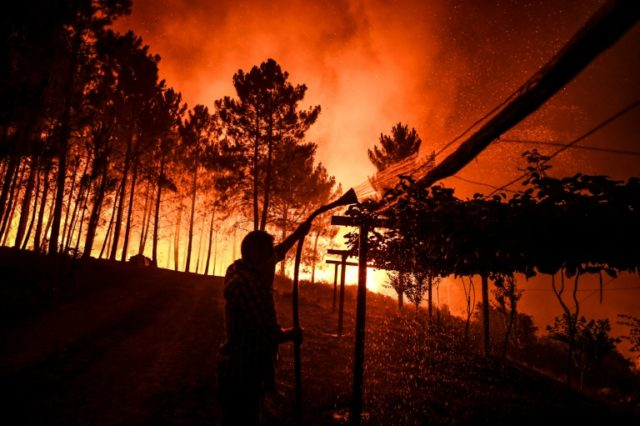 Portugal wildfires under control, but strong winds pose risk