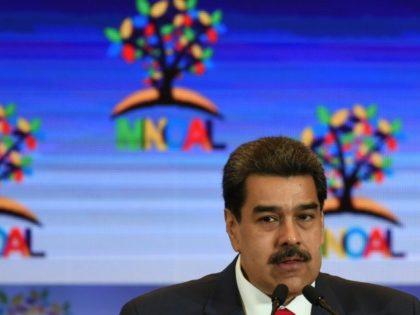 Three of Venezuelan President Nicolas's Maduro's stepsons are among 10 people sanctioned by the US Treasury