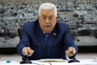 Palestinian president says to stop agreements with Israel