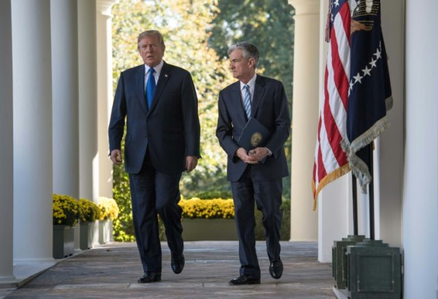 US President Donald Trump named Jerome Powell as Federal Reserve chairman, but for the past year has maintained an unrelenting campaign attacking the US central bank