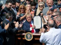 Trump touts Ground Zero experience in 9/11 compensation bill signing
