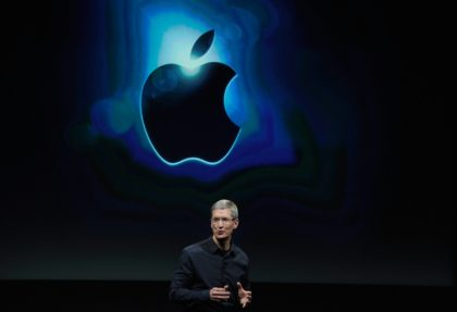 Apple CEO Tim Cook noted that services represent a major growth avenue for the tech giant as iPhone sales sputter